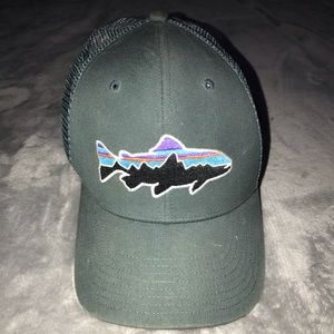 Patagonia fish trucker hat
